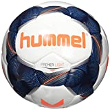 Hummel Erwachsene Premier Light FB Fussball, White/Vintage Indigo/Orange, 5