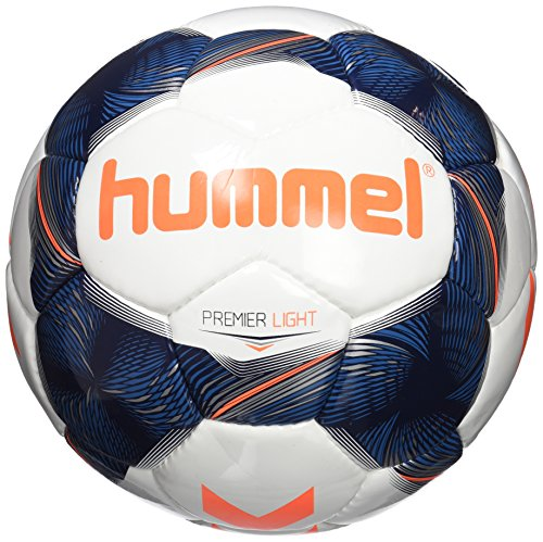 Hummel adultos Premier Light Fb Fútbol, White/Vintage Indigo/naranja, 5