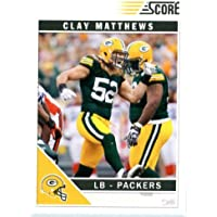 2011 Score Football Card # 105 Clay Matthews - Green Bay Packers - NFL Trading Card!