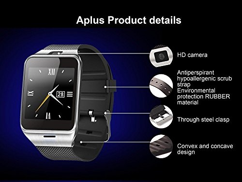 Smart Watch KXCD Bluetooth Smartwatches Phone With Camera TFSIM Card Slot For Android And IPhone Smartphones For Girls Boys Men Women