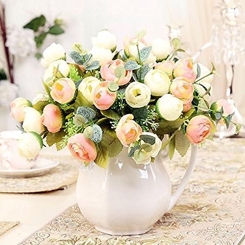 La sala da pranzo emulazione tabella Kit di fiori in ceramica brocca del latte ,27*28cm,6,27*28cm vasi