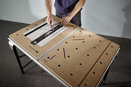 Wolfcraft Master Cut 2500 - Präzisionssägetisch und Arbeitsstation, 1 Stück, 6902000 - 6