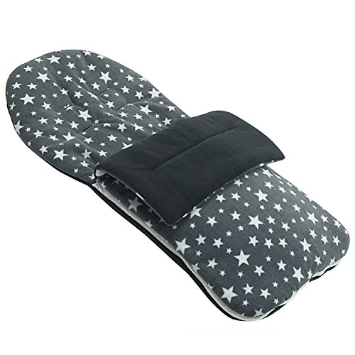 Forro polar saco compatible con Chicco Trio Living – gris Star