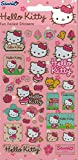 Official Hello Kitty Foil Sticker Pack (95 x 195 mm) - Pink Flowers