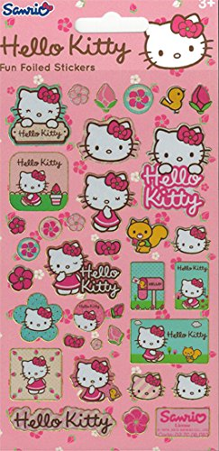 paper-projects-hello-kitty-flowers-foiled-stickers