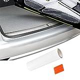 PREMIUM Ladekantenschutz-Folie Lack Schutz Kratzer für Stoßstange Fahrzeugspezifisch [Transparent-Klar]