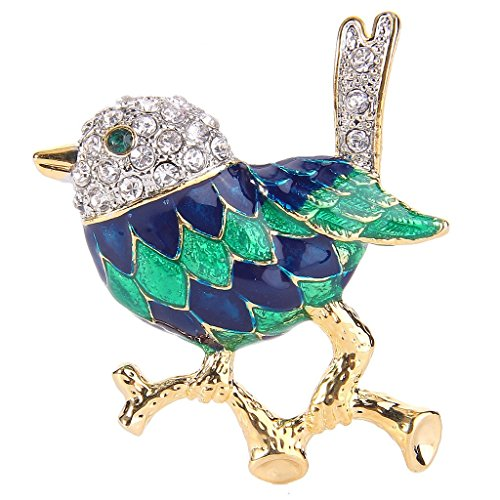 ever-faith-cristallo-verde-delle-donne-w-blu-dello-smalto-poco-adorabile-sparrow-uccello-spilla-canc