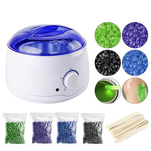 YAOBLUESEA Wax Warmer, Wachswärmer Wachserhitzer Wax Heater Wachsgerät Waxing Kit Heisswachs...