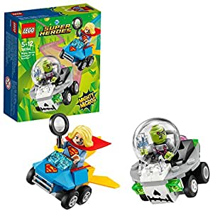 LEGO DC Comics Super Heroes - Mighty Micros : Supergirl contre Brainiac - 76094 - Jeu de Construction