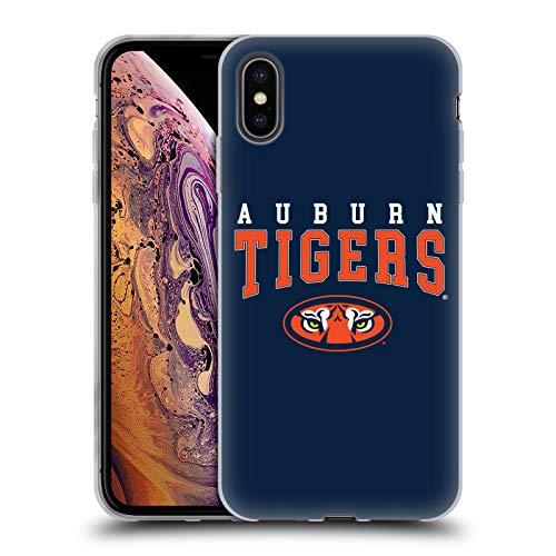 Head Case Designs Offizielle Auburn University AU Auburn Tiger Soft Gel Huelle kompatibel mit iPhone XS Max -