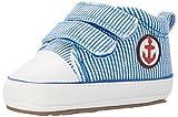 Sterntaler Jungen Baby-Schuh Krabbel-& Hausschuhe, (Blau), 20 EU