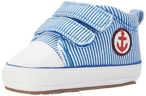 Sterntaler Baby Jungen Schuh Krabbelschuhe Blau (Blau) cTQGP