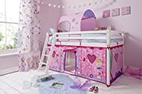 Cabin Bed with Fairies Tent and Tunnel