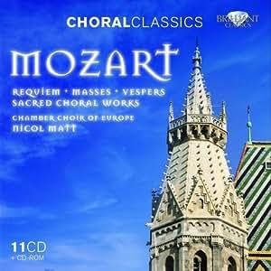 Mozart: Sacred Choral Works 11CD+CDROM
