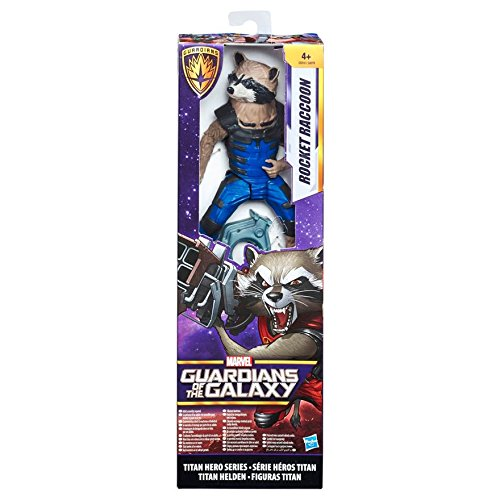 Marvel Figur aus Guardians of The Galaxy, Titan-Serie, 30 cm Rocket Raccoon