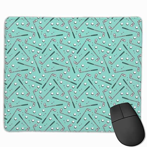 Golf Clubs - Aruba_95076 Mouse pad Custom Gaming Mousepad Nonslip Rubber Backing 9.8