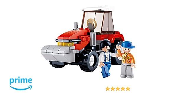 Sluban Farm Tractor Building Set Plus Farmer