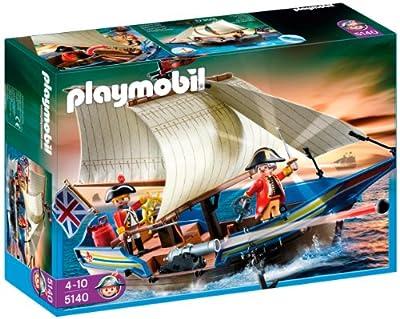 Playmobil 5140 Piratas - Barco de los soldados de Playmobil