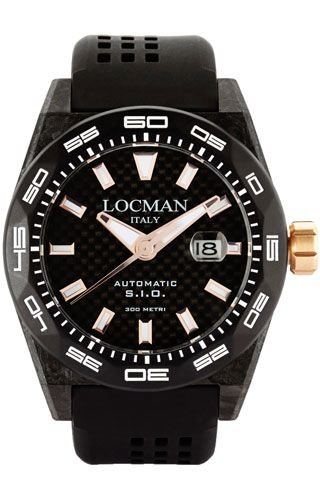 Locman 0216V4CBCB5N0S2K Black Titanium Man Watch