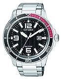Citizen Hombre Reloj de Pulsera analógico Cuarzo Acero Inoxidable aw1520-51E