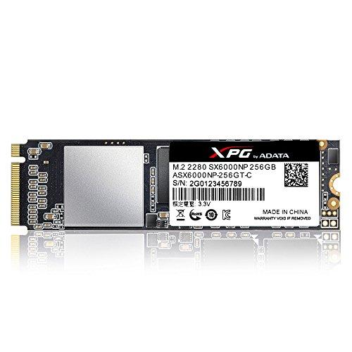 ADATA XPG SX6000 - Solid-State-Disk - 256 GB, ASX6000NP-256GT-C -