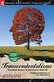 transcendentalism emerson and thoreau essay Henry david thoreau, an emerson protégé who excelled at grounding his ralph waldo emerson was born if quite a number of emerson's essays seem.