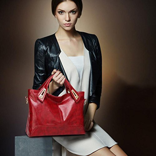 Borsa A Tracolla Coreana Messenger Bag MYLL Signora Retro Borse Bag Red
