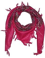 Superfreak® Baumwolltuch - Indische Muster ° Tuch ° Schal ° 100x100 cm ° 100% Baumwolle ° alle Farben!!!