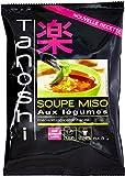 Tanoshi Soupe Miso Légumes 65g - lot de 5