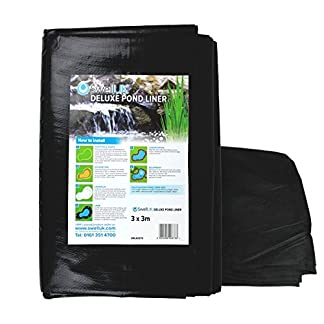 Swell UK Pond Liner with Free Pond Underlay Swell UK Pond Liner with Free Pond Underlay 51zqrCi5TgL