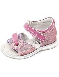 Nero Giardini C9594 Sandalo Bimba Junior Scarpa Argento Glitter Shoe Kid Girl [19]