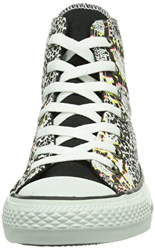 CONVERSE Chuck Taylor Ani Print Hi 308440-55-15  Damen Sneaker Mehrfarbig (Blanc/Multi)