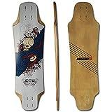 Koston Longboard Deck Viper 33.3 x 9.25 inch Downhill & Freestyle DE312 inkl. Griptape