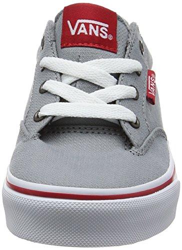 Vans Jungen Yt Winston Sneakers Grau (Woven Gray/red)