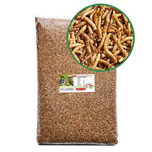 Farina di vermi getrocknet 1kg qualità premium