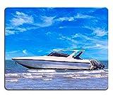 Die besten Liili Schreibtische - Mousepads Motorboot auf Tageslicht für Reisen in Thail Bewertungen