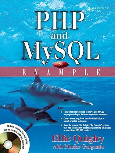 PHP and MySQL by Example by Ellie Quigley (2006-12-02) par Ellie Quigley;Marko Gargenta