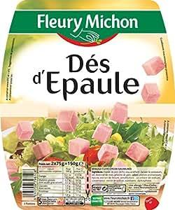 Fleury Michon Viande Ds d'Epaule 2 x 75 g