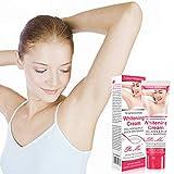 AimdonR Achselaufhellungscreme - Aufhellungscreme, für intime Bereiche der Achselhöhlen Essenz der Körperpflege, Beseitigung von Melanin 50 ml