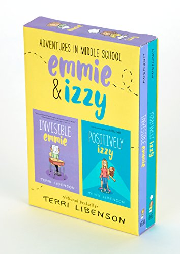 Adventures in Middle School 2-Book Box Set: Invisible Emmie and Positively Izzy por Terri Libenson