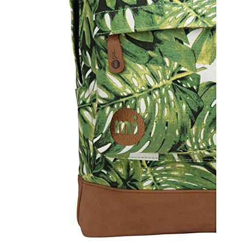 Mi-Pac Mono Maritime Rucksack Einheitsgröße Green Patch