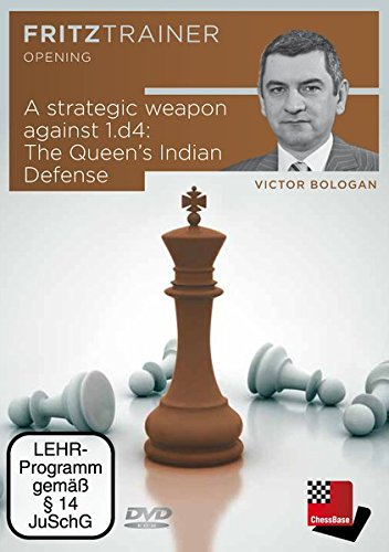 A strategic weapon against 1.d4: The Queen\'s Indian Defense, DVD-ROM310 Min.