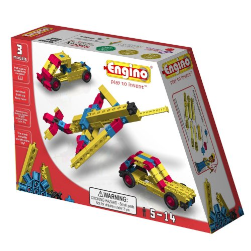 ENGINO 000310 - Engineering Set 3 Modelle