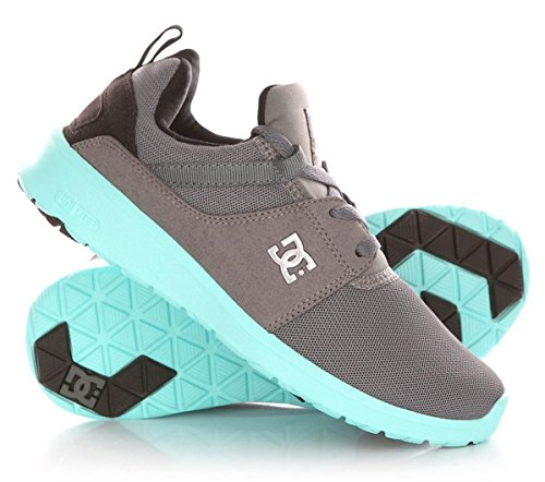 DC Shoes Heathrow J Damen Sneaker Grau