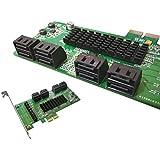 Kalea Informatique–Tarjeta de control PCI Express de SATA 3, 8puertos, chipset Marvell 88se9705; Windows 2000, xp32/64, Vista32/64, 7y 832/64; Server 2012, Mac OS X 10.6y más tarde, Linux Kernel 2.6.19y más tarde