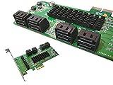 Kalea-Informatique Kontrollkarte PCI-Express aus SATA 3, 8Ports, Chipset Marvell 88SE9705; Windows 2000, XP32/64, Vista32/64, 7 und 8 32/64; Server 2012, Mac OS X 10.6 und später, Linux Kernel 2.6.19 und später