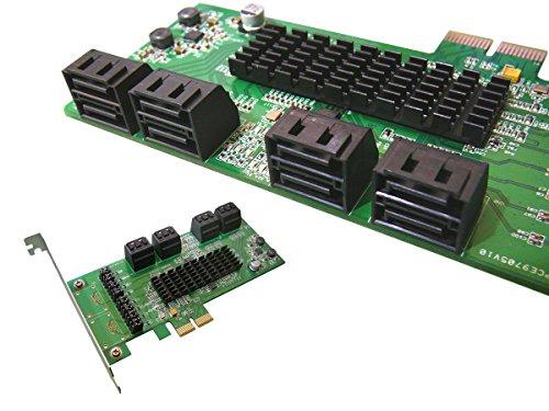 Kalea-Informatique-Scheda di controllo PCI-Express in SATA 3, 8porte, chipset Marvell 88SE9705; Windows 2000, XP32/64, Vista32/64, 7e 832/64; Server 2012, Mac OS X 10.6e successivi, Linux Kernel 2.6.19e successivi
