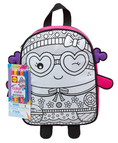 Alex Toys Craft Colour a Backpack Cutie