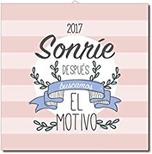 Calendario 2017 Amelie, Sonrie, después buscamos el motivo