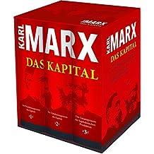 Karl Marx: Das Kapital (Vollständige Gesamtausgabe): 3 Bände im Schuber